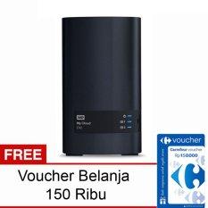 Jual Wd My Cloud Ex2 12Tb Gigabit Lan Free Voucher Belanja 150Rb Online Dki Jakarta