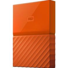 WD My Passport 1TB HDD Hardisk Harddisk External Eksternal WDBYNN0010B - ORANGE