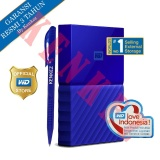 Harga Wd My Passport New Design 1Tb 2 5Inch Usb3 Biru Pen Online