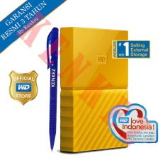 Jual Wd My Passport New Design 1Tb 2 5Inch Usb3 Kuning Pen Branded Original