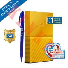 Wd My Passport New Design 1Tb 2 5Inch Usb3 Kuning Pen Asli