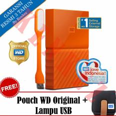 Jual Wd My Passport New Design 2Tb Portable Storage Usb 3 Orange Harddisk Eksternal 2 5 Pouch Wd Usb Lampu Led Original