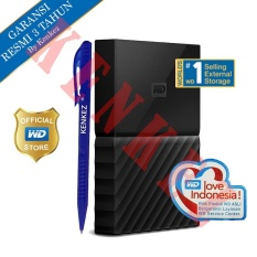 WD My Passport New Design 2TB/2.5Inch/USB3.0 - Hitam + Pen