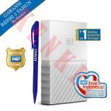 Harga Wd My Passport New Design 2Tb 2 5Inch Usb3 Putih Pen Yang Murah
