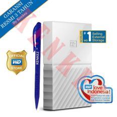 Beli Wd My Passport New Design 2Tb 2 5Inch Usb3 Putih Pen Baru