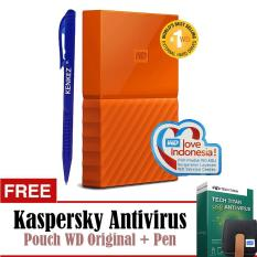Toko Wd My Passport New Design 4Tb 2 5Inch Usb3 Orange Free Kaspersky Pouch Pen Lengkap Dki Jakarta