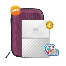 Beli Wd My Passport New Design Hdd Eksternal 2 5 4Tb Usb3 Putih Free Hardcase Cicil