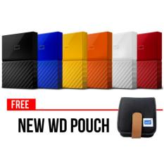 WD My Passport Ultra Hardisk Eksternal 2Tb NEW Design