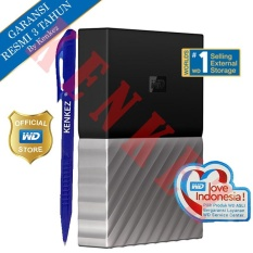 WD My Passport Ultra Hardisk Eksternal 4TB 2.5