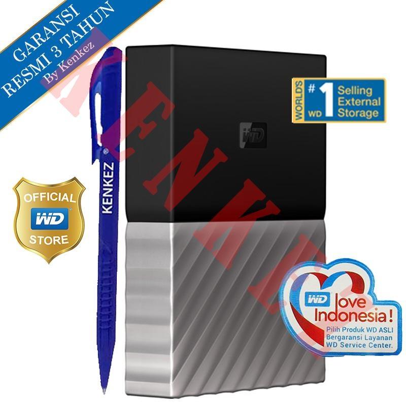 Garansi 3 Tahun Resmi Distributor WD My Passport Ultra Hardisk Eksternal 4TB 2.5\