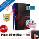 Spesifikasi Wd My Passport New Design 1Tb Portable Storage Usb 3 Hitam Harddisk Eksternal 2 5 Pouch Wd Pen Lengkap