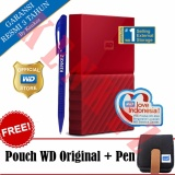 Dapatkan Segera Wd My Passport New Design 1Tb Portable Storage Usb 3 Merah Harddisk Eksternal 2 5 Pouch Wd Pen