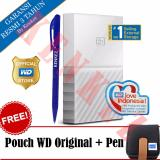 Ulasan Mengenai Wd My Passport New Design 1Tb Portable Storage Usb 3 Putih Harddisk Eksternal 2 5 Pouch Wd Pen