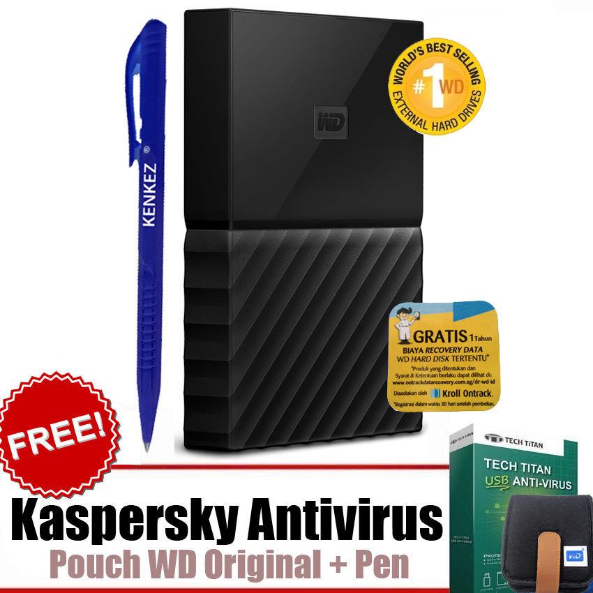 Review WD My Passport ULTRA New Design 4TB Portable Storage USB 3.0 - Hitam Harddisk Eksternal