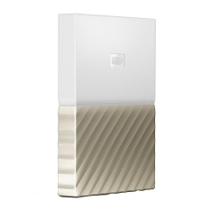 WD My Passport Ultra Portable External Hard Drive 1TB - Putih Gold