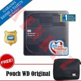 Jual Wd My Passport Wireless Pro Hardisk Eksternal 2Tb Usb3 Wi Fi Hitam Pouch Baru