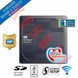 Diskon Besarwd My Passport Wireless Pro Hardisk Eksternal 4Tb Usb3 Wi Fi Hitam