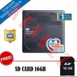 Jual Wd My Passport Wireless Pro Hardisk Eksternal 4Tb Usb3 Wi Fi Hitam Sd Card 16Gb Lengkap