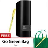 Jual Wd Mybook 6Tb Premium Storage 3 5 Usb 3 Hitam Gratis Go Green Bag Pen Online
