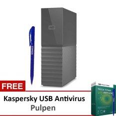 Jual Wd Mybook New Design 3Tb Premium Storage Usb 3 Hitam Hardisk Eksternal 3 5 Gratis Kaspersky Usb Antivirus Pen Wd Online