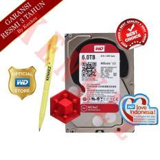 WD Red 6TB SATA Harddisk NAS 3.5