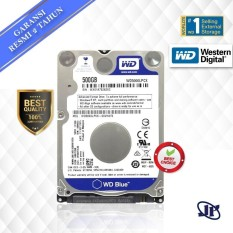 Western Digital WDC Blue Scorpio 500GB SATA3 64MB 5400 RPM 2.5 HDD/ Hardisk/ Harddisk Internal/ Hard Drive Notebook