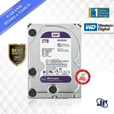 Western Digital WDC Purple 2TB PC SATA3 64MB 5400 RPM 3.5