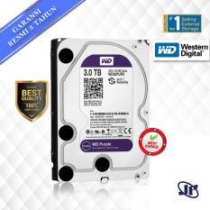 Western Digital WDC Purple 3TB PC SATA3 64MB 5400 RPM 3.5