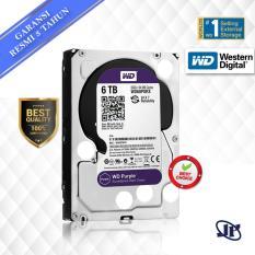 Western Digital WDC Purple 6TB PC SATA3 64MB 5400 RPM 3.5