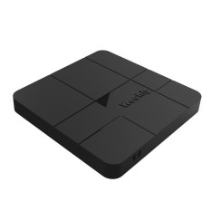 Wechip V8 Smart Android 7.1.2 TV Box Amlogic S905W Quad Core H.265 VP9 HDR10 1 GB/8 GB DLNA LAN WiFi HD Media Player U.S. Plug & NB-Intl