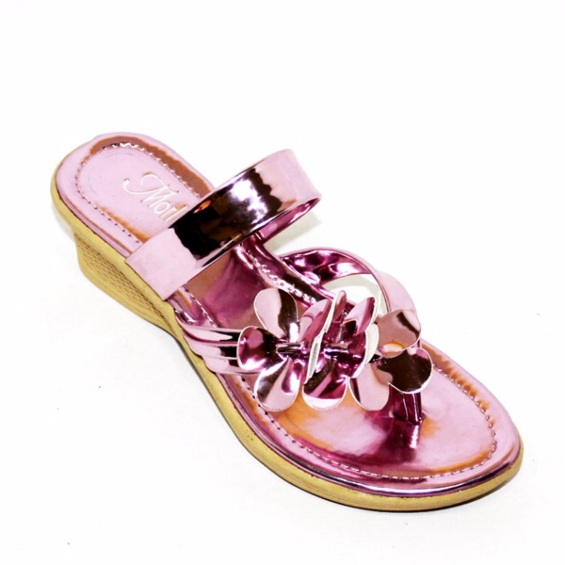 Wedges Flip Flop Anak Marlee JN-01 Pink · Marlee Sepatu Anak Perempuan ...