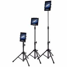 Wego Fashion, Berkualitas Tinggi, Lantai Tripod Stand And Mount For Tablet-iPad, IPad Mini, samsung Galaxy Tab And Telepon Dalam 7-10 Inch. Rotatable 360 °