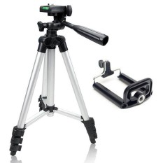 Weifeng Tripod Stainless 3110 Smartphone Camera - Silver