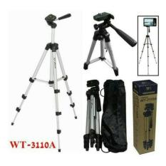 Weifeng Tripod WT-3110A /GMC For Kamera And Smartphone - Silver