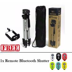 Weifeng Tripod WT-3110A - Hitam + Gratis Holder-U + Bluetooth Camera Shutter