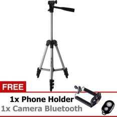 Promo Weifeng Tripod Wt 3110A Ori Gratis Phone Holder Camera Bluetooth Akhir Tahun
