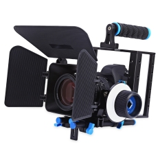 Aluminium Paduan WEIHE Film Video Ikuti Fokus Kit With Mate Ruangan For DSLR Kamera Camcorder-ต่างประเทศ