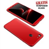 Toko Weika Armor Full Cover Hard Case For Oppo F5 Red Lengkap