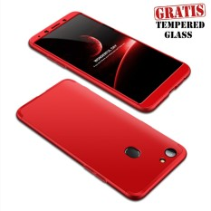 Weika Armor Full Cover Hard Case for OPPO F5 Red