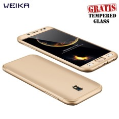Weika Armor Full Cover Hard Case for Samsung J7 PRO Gold