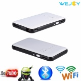 Jual Beli Online Wejoy Dl S6 Wireless Hd Dlp Portable Pocket Proyektor 1G 8G Rom Dengan 2 4G 5 8G Dual Wifi Intl