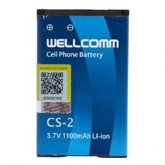 Wellcomm Battery Blackberry CS-2 1200mAh - Blue