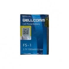 Wellcomm Battery Blackberry FS-1 1300mAh - Blue