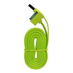 Wellcomm Kabel Data For Iphone 4/4s - Hijau