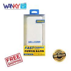 Wellcomm Power Bank AF100 10000mAh - Putih
