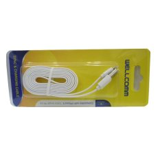Wellcomm Sync & Charging Cable - Khusus Iphone 5 Cable 95cm - Putih