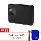 Jual Beli Western Digital My Passport 2Tb Usb 3 Hitam Gratis Softcase Pen Baru Indonesia