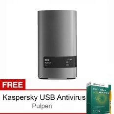Toko Western Digital Mybook Duo 8Tb Usb 3 Abu Abu Free Kaspersky Usb Antivirus Pulpen Wd Wd