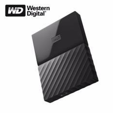 Western Digital Wd My Passport 1Tb New Model Usb 3 Black Indonesia