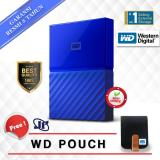 Beli Western Digital Wd My Passport New Design 2Tb 2 5 Usb 3 Biru Gratis Pouch Cicilan